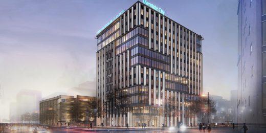 Oma Ehitaja ehitab Ülemiste Citysse uue 12-korruselise büroohoone
