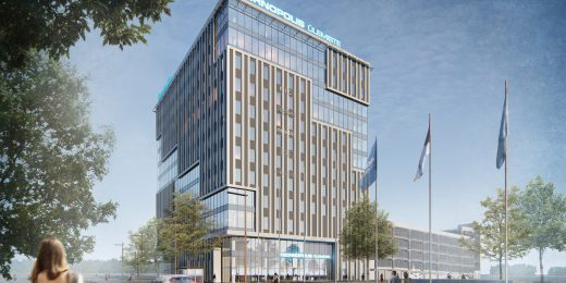 Ülemiste uus 12-korruseline büroohoone sai nurgakivi