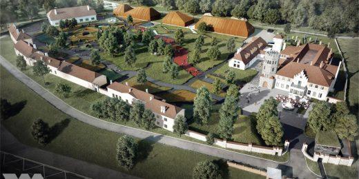 Oma Ehitaja ehitab Ajaloomuuseumile Maarjamäe kompleksi Filmimuuseumi hoidlahoone.