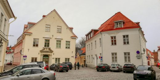 Oma Ehitaja will begin reconstruction works of the Government Office buildings in Toompea.